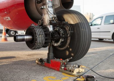 aircraft brake and wheel